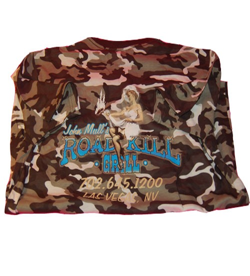 Camo Shirt_Wht Brn_Short Sleeve_Back
